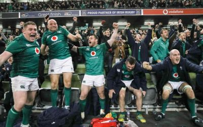 Ireland beat the All Blacks.!!!