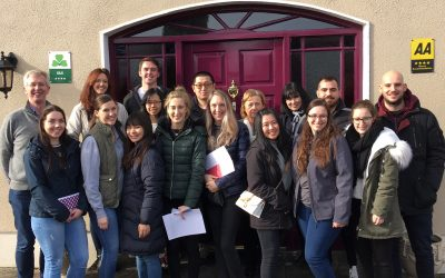 University of Limerick Students visit Clareville House